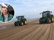 Veehouder Willeam ontwijkt politie via het strand: 'Knalhard door het mulle zand. Ge-wel-dig!'