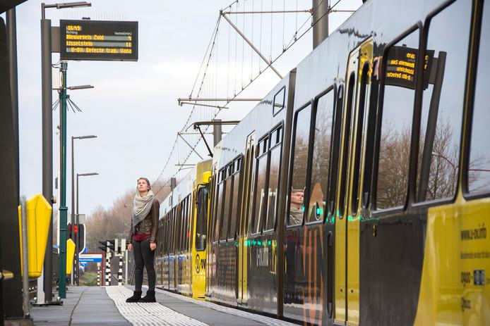 Voorlopig rijden er geen trams tussen Utrecht en IJsselstein.