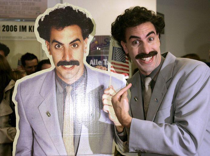 Kazachstan heeft het satirische typetje Borat van de Amerikaanse komiek Sacha Baron Cohen intussen omarmd.