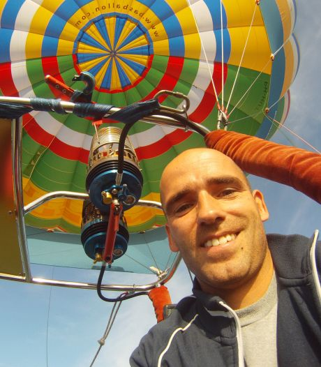 Iedereen mag weer mee varen met luchtballon: Bas springt gat in de lucht
