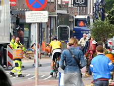 Slalommend om de wegwerkzaamheden in Rhenen