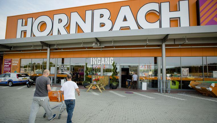 Het exterieur van een filiaal van bouwmarkt Hornbach. Beeld anp