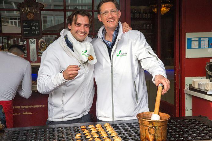 Joost Eerdmans is hier, voor de gemeenteraadsverkiezingen van 2018, nog dikke maatjes met Thierry Baudet, maar de liefde is bekoeld.