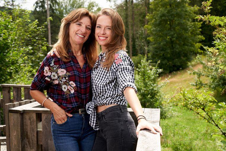 Christa en Stephanie Planckaert