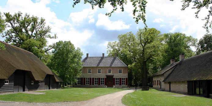 Landgoed Luchtenburg bij Ulvenhout.