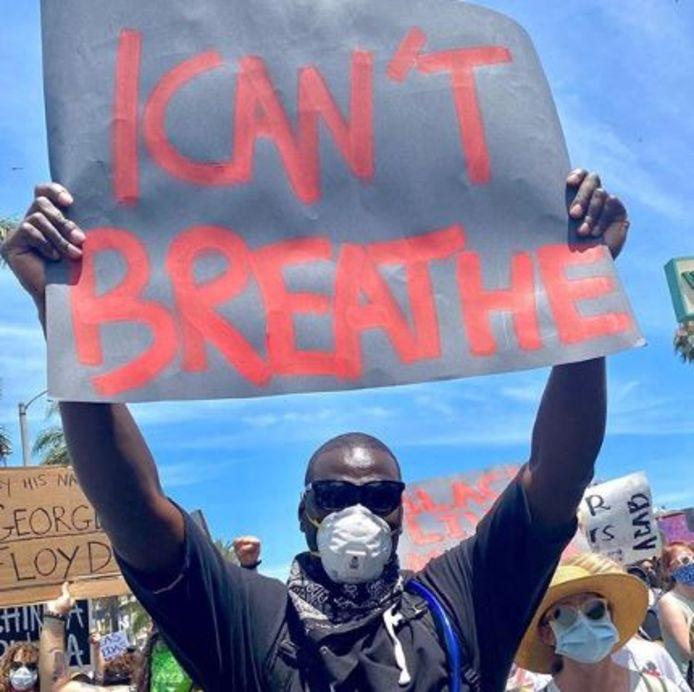 L'acteur français Omar Sy a participé aux manifestations BLM à Los Angeles