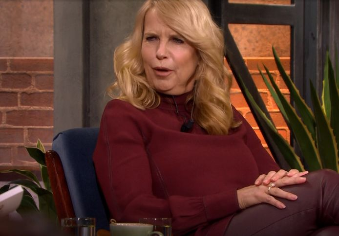 Linda de Mol tijdens Ladies Night.