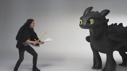 VIDEO. Kit 'Jon Snow' Harington vecht tegen schattige draak in 'How To Train Your Dragon 3' teaser
