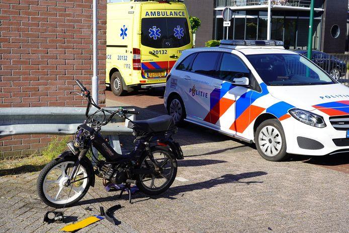 Het ongeluk gebeurde aan de Kanaalstraat in Dongen.
