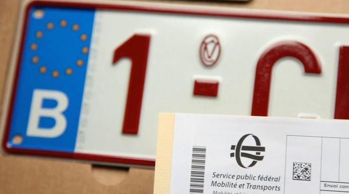Il ne faudra plus payer pour radier une plaque d'immatriculation à partir du 1er août.