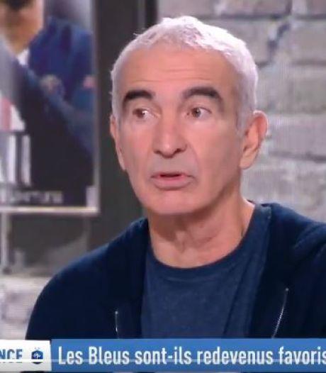 Estelle Denis vire Raymond Domenech de son plateau après un commentaire déplacé