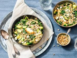 Wat Eten We Vandaag: Spaghetti met geitenkaas