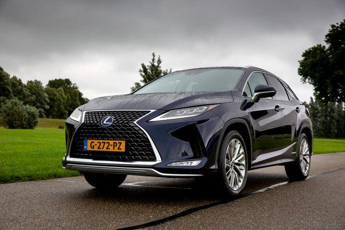 De hybride Lexus RX, een luxueuze en bijzonder comfortabele SUV.