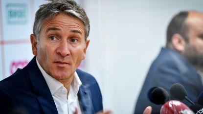 """Montanier charmeert bij zijn voorstelling op Standard: """"Straks spelers verliezen? Neen, toch?"""""""