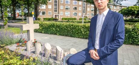 Student Samuel kleurt levens doodgeschoten mannen in