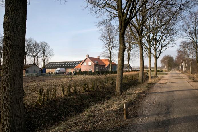 boerderij aan het Leegveld in Deurne. In dit gebied verrijst de komende jaren een natuurgebied.