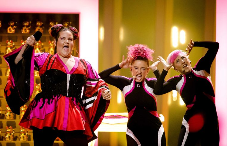 De Israëlische zangeres Netta won in mei het Eurovisiesongfestival in Portugal.