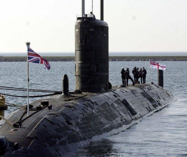 De strijdkrachten van Frankrijk en Groot-Brittannië benadrukten in een reactie echter dat de 'nucleaire veiligheid geen moment in gevaar is geweest.' Foto ANP/Barry Batchelor Beeld