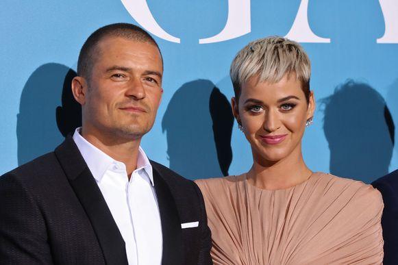 Orlando Bloom en zijn verloofde, Katy Perry.