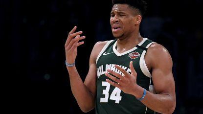 Milwaukee kan niet meer winnen zonder Giannis Antetokounmpo