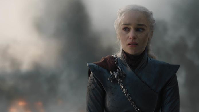 Emilia Clarke, l'interprète de Daenerys Targaryen.