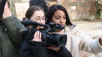 Scholieren maken twee kortfilms en theaterstuk