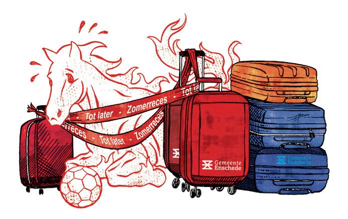 Illustratie FC Twente zomerreces