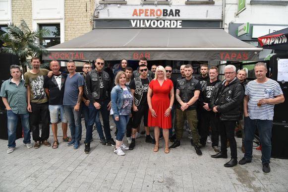 Nathalie Ramos organiseerde met haar Apero Bar een benefiet voor Maikel Van Eylen.