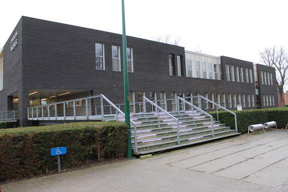 Het gemeentehuis van Assenede.
