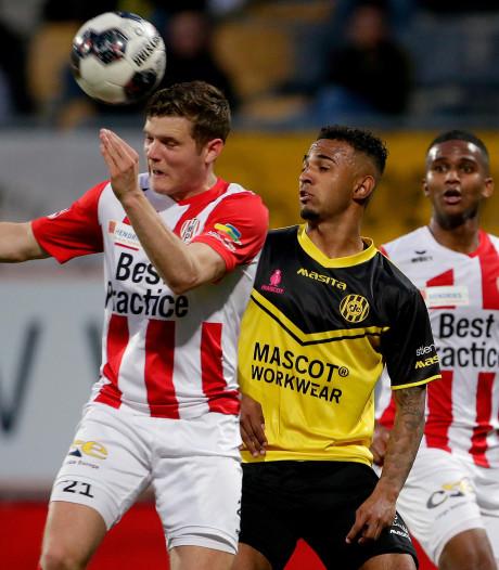 Winst ontglipt TOP Oss in stormachtige eindfase bij Roda JC