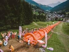 Van Nijmeegse Splash zoeven in Zwitserse Alpen