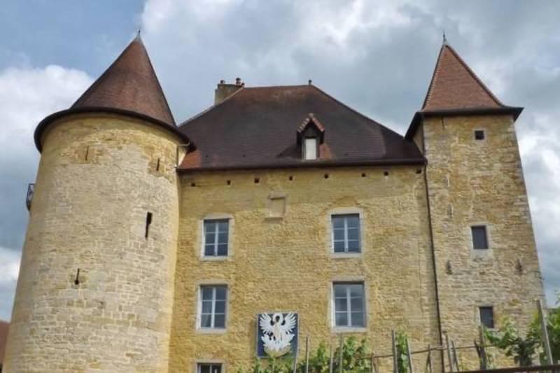 Château Pécauld in Arbois, afkomstig uit de 13de eeuw.