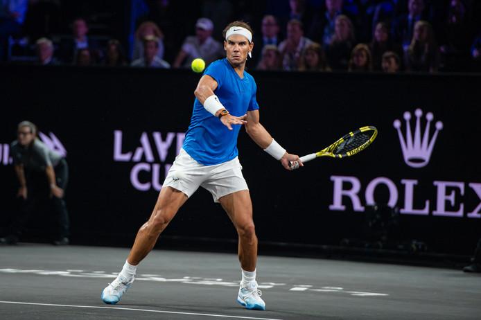 Rafael Nadal mist de slotdag van de Laver Cup door een blessure.
