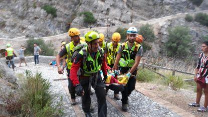 Vijf wandelaars omgekomen door stortvloed in Zuid-Italiaanse kloof