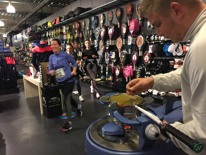 Urban Run 2018: hardlopen door de sportwinkels op Stappegoor.