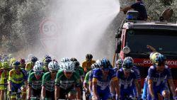 Onmenselijke koersomstandigheden in Portugal door extreme warmte: jonge renner uitgedroogd afgevoerd