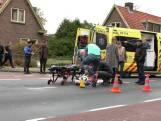 Fietsster gewond na aanrijding in Dieren