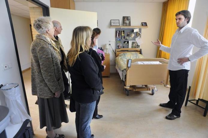 Een open dag in verpleeghuis De Lingehof in Bemmel.