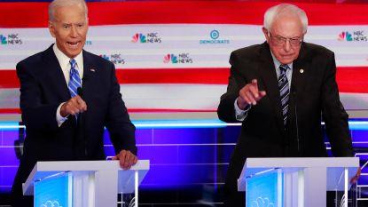 Biden in het defensief gedrongen tijdens bij momenten bits Democratisch debat