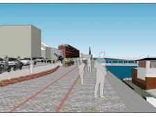 Handelsdokkaai wordt een zone voor fietsers en voetgangers