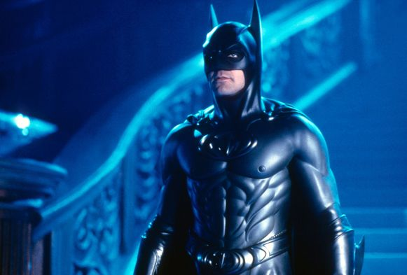 George Clooney in 'Batman & Robin'
