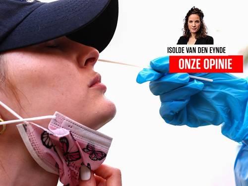 Onze opinie. We mogen ons niet langer blindstaren op de besmettingen die stijgen. De vraag is: wat brengen ze teweeg?
