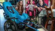 """Wie maakt Ella's droom waar? Meisje hoopt op rolstoelfiets: """"Ze leeft helemaal op buiten"""""""