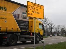 Werk aan N602 tussen Wanroij en Sint Anthonis duurt vier maanden langer