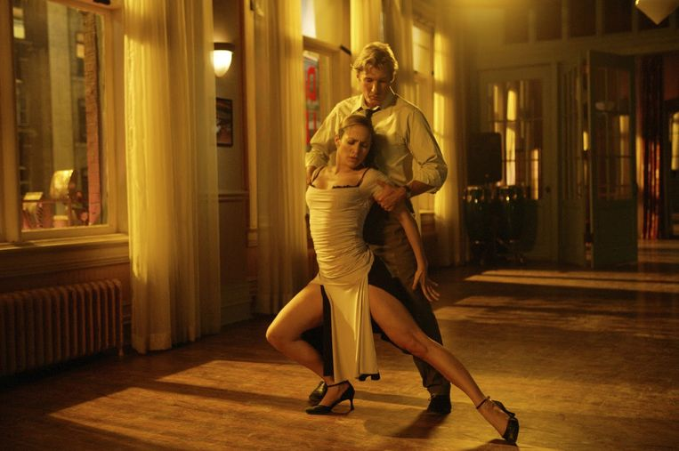 Jennifer Lopez en Richard Gere in Shall We Dance (Peter Chelsom, 2004). Beeld