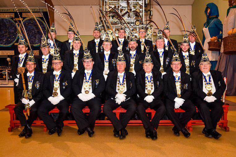 En daar komen de pluimen... de officiële statiefoto van de Orde van de Commeduur 2019
