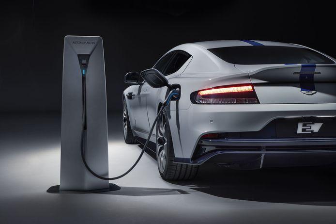 De Aston Martin Rapide E had de eerste elektrische auto van het merk moeten worden