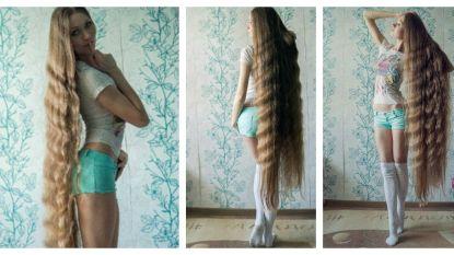 """Rapunzel in het echt: """"Ik ga nog door tot mijn haar mijn tenen raakt"""""""