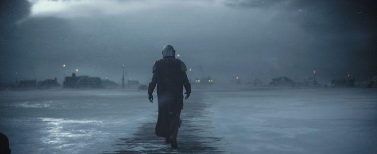 'Het testshot bleek zo goed, dat dit het openingsbeeld van de serie is geworden.' Beeld Lucasfilm