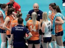 Volleybalsters rechten rug tegen Zuid-Korea na twee nederlagen
